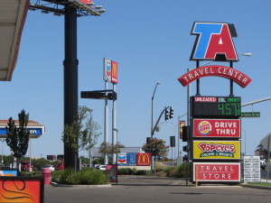 Look for a Travel America Travel Center