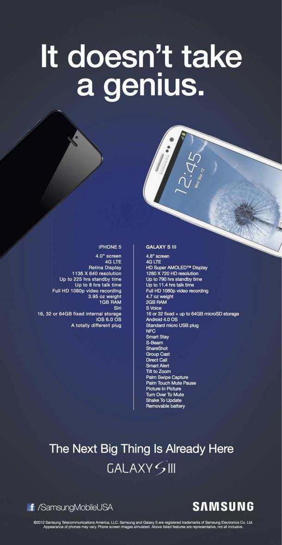 Samsung's new ad