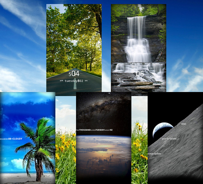 Free MultiPicture Live Wallpaper app lets you cycle through background photos