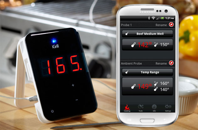 iGrill is the first grilling/cooking thermometer and app for android devices.