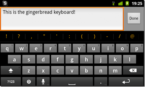 keypad for android