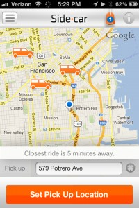 sidecar location android