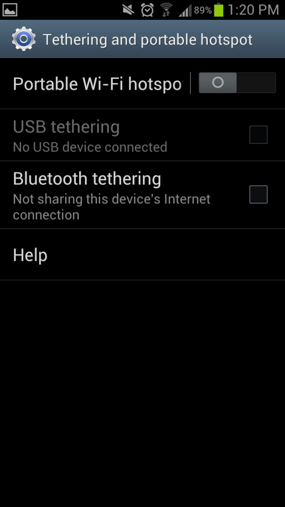 How to use your Android as a portable Wi-Fi hotspot