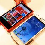 Nokia Lumia 920 versus the Samsung Galaxy S3