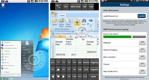 PocketCloud Remote android app