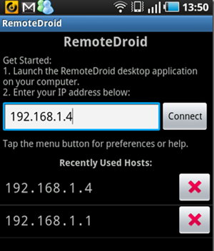 RemoteDroid-Android-App