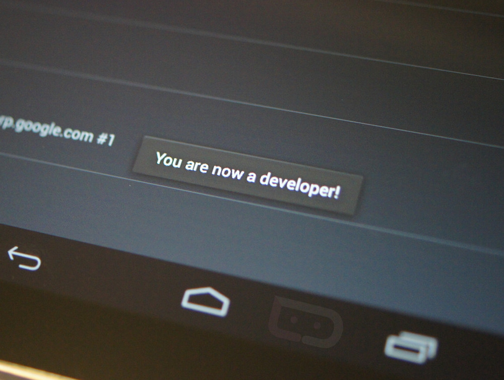 How to access Developer Options in Android 4.2