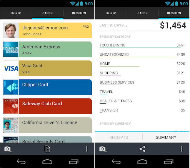 lemon wallet android