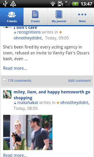 livejournal android app