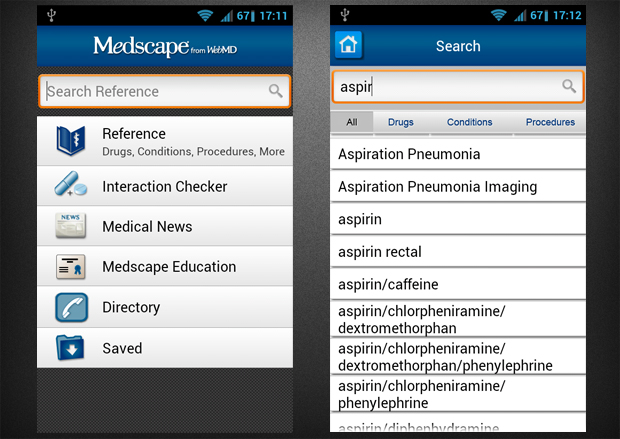 medscape android