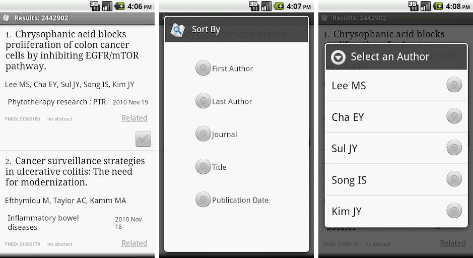 pubmed android app