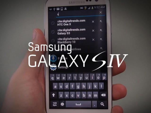 Latest Samsung Galaxy S4 Rumors – 13MP camera, 1080p display