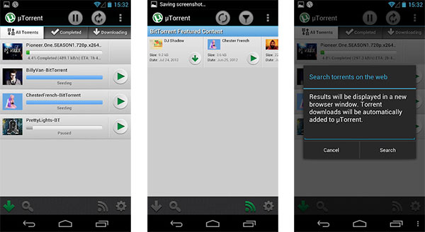 utorrent android app
