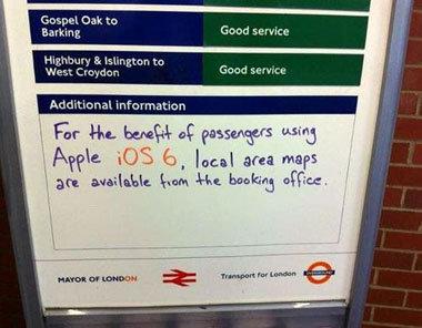Apple Maps Hopelessly Strands