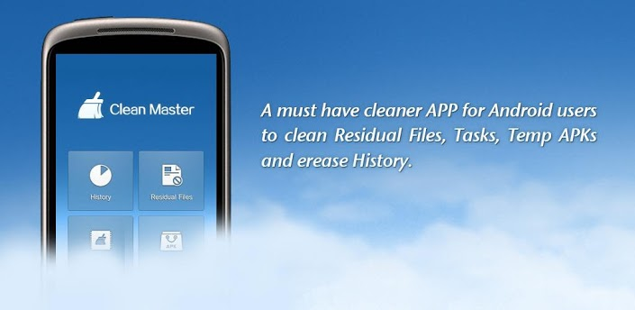 Free Up Space on your Android With Clean Master