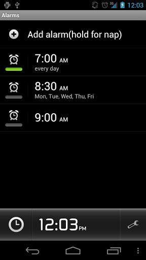 alarm clock plus android
