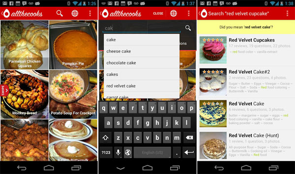 android-recipe-search