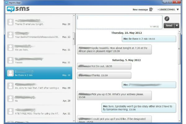 Text Friends from your PC Using an Android App Called MySMS