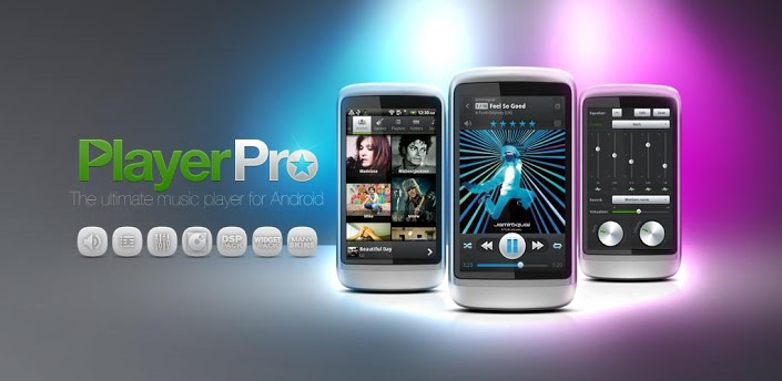 PlayerPro – The Quintessential Music Player for Your Android Device