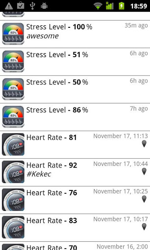 Monitor Your Stress Levels Using Your Android Device