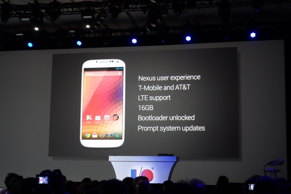 Google Edition of the Samsung Galaxy S4