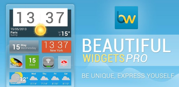 Let Your Widgets Express You With Beautiful Widgets Pro