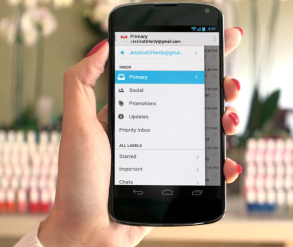 New-Gmail-Inbox-for-Android