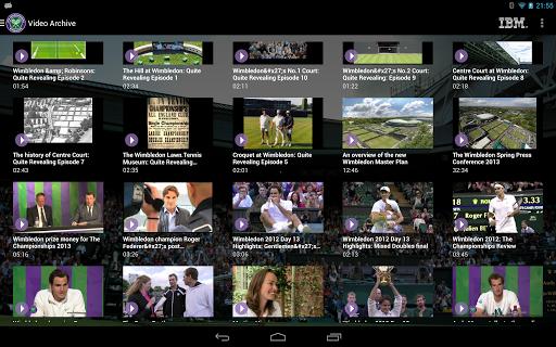 Wimbledon videos