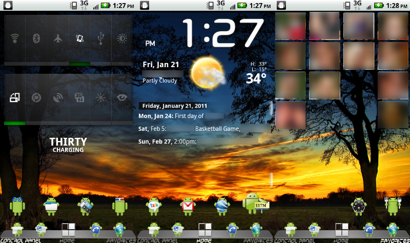 5 Cool Android Apps that Make your Android Home Screen Look Pretty