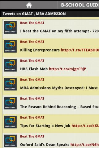 B-School GMAT Guide tweets
