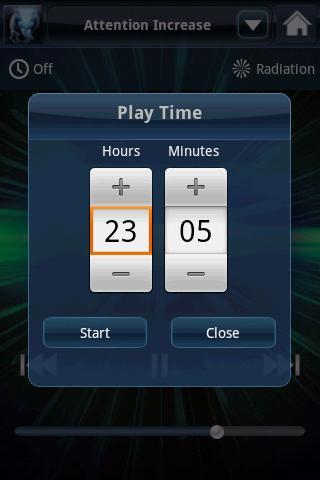 brainwave tuner timer