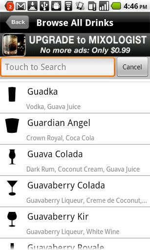 mixology ingredients