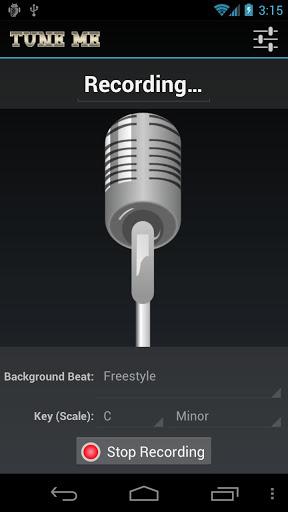 tune me recording