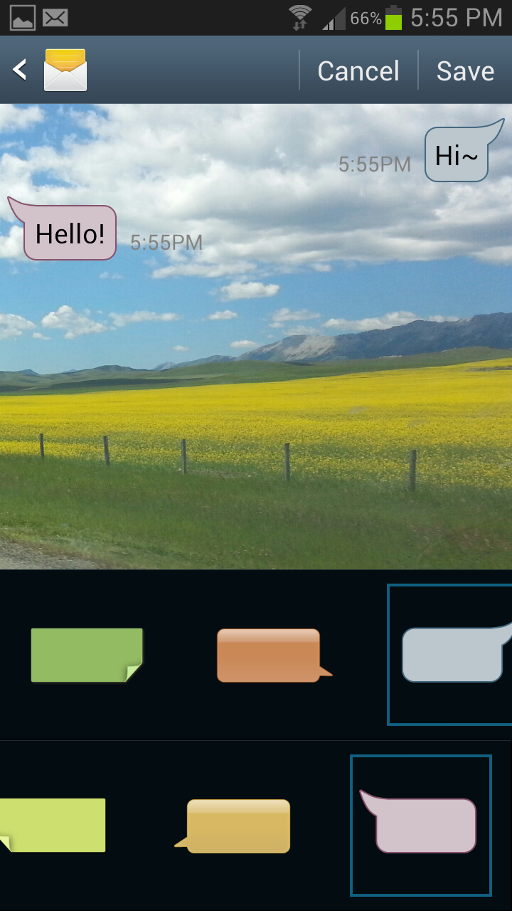 How to Customize Text Message Font and Background on your Samsung Galaxy