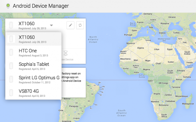 """How To Find Your Lost or Stolen Android With Google's New """"Android Device Manager"""" Tool"""