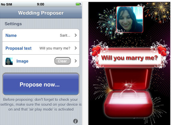 will you marry me app