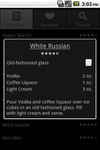 bartender drinks