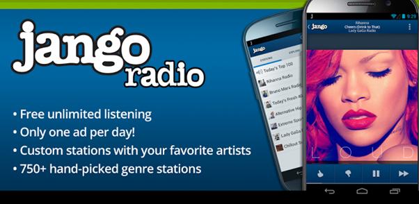 Experience Unchained Music Love with Jango Radio