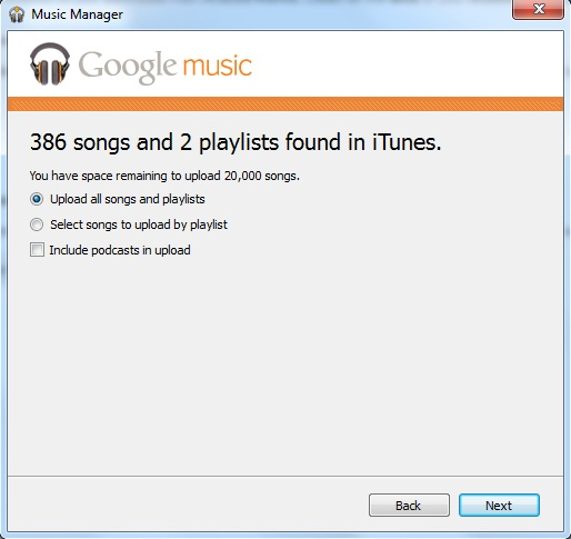 iTunes Music to your Android Device