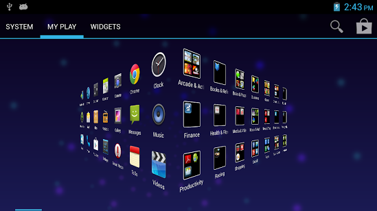 true launcher android