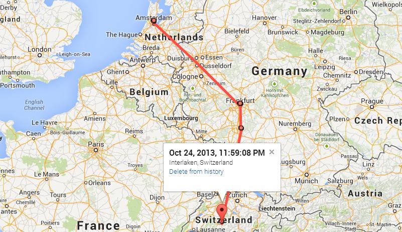 google maps tracking