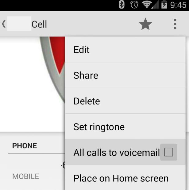 block calls android