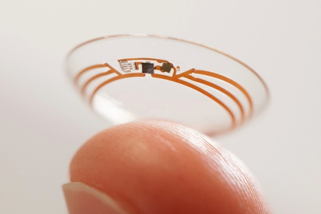 Google Is Actively Developing Google Glass-like Contact Lenses