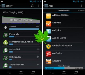 greenify unrooted