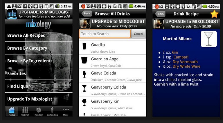 mixology android
