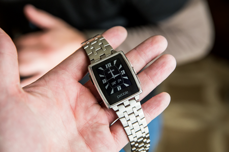 pebble steel android smartwatch