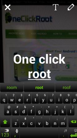 snapchat text size change