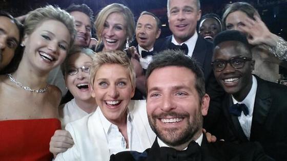 oscars selfie 1