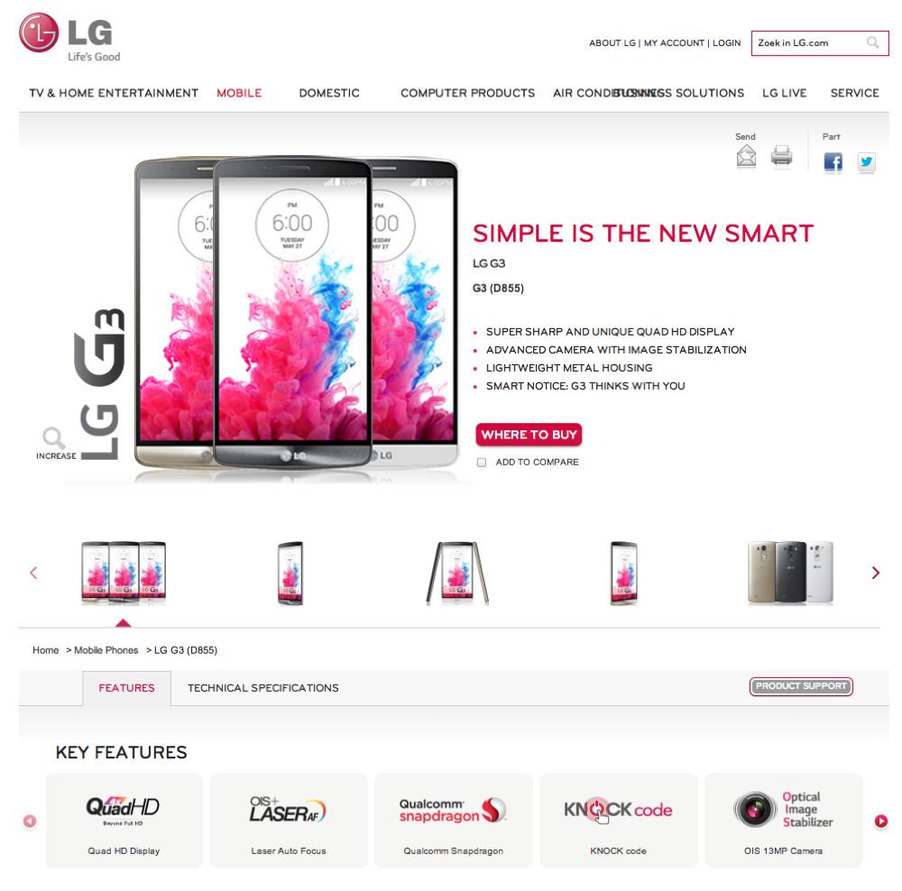 LG G3 Specs Fully Leaked