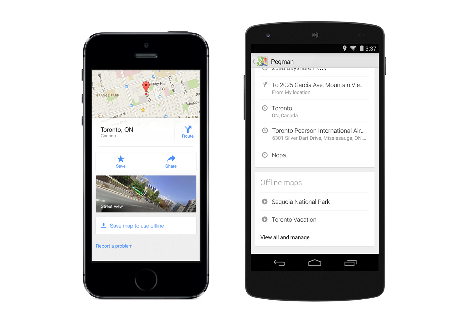 Google Maps Adds Uber Integration and Extensive Offline Functionality with Recent Update